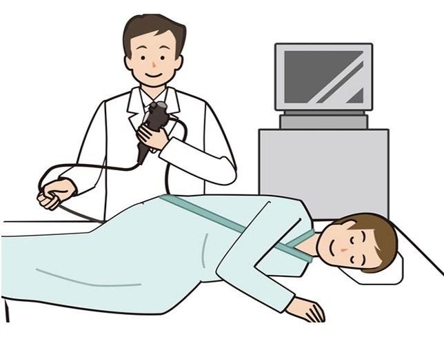 大腸カメラ検査開始